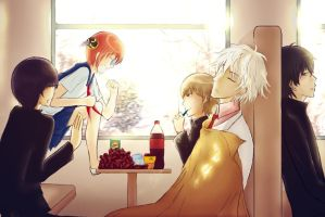 Gintama--3Z Field Trip by CalciumAndMilk