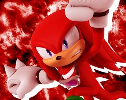 Knuckles Wallpaper 2 by NoNamepje