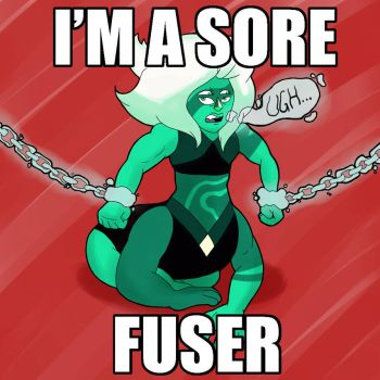 Malachite's a sore fuser by CrossBreed777