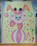 Circus Kirby!! by SuperMarioFan888