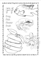 alphabet coloring pages Ff copy by jbeverlygreene
