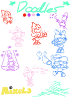 My Mixels Doodles by BeansTheCat