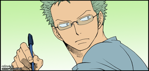 Zoro coloring, no,number2 (1) by AnnaHiwatari