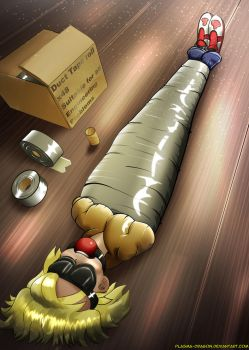 Packaged for delivery by Plasma-dragon