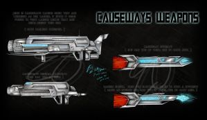 Causeways Weapons by LadyElita-Arts