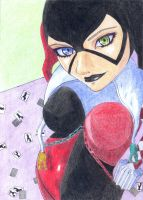 AME-COMI HARLEY QUINN by Th3DarkKn1ght