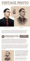 Victorian Portrait - Gradient Replication Method by MVRH