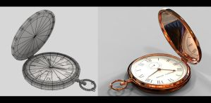 Time - Watch Render 2 by Akiratang