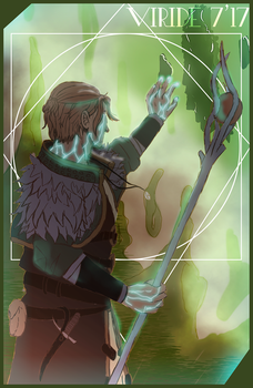 Anders FanART - Dragon Age 2 by Viridessi