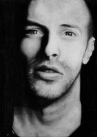 Chris Martin Portrait by Yankeestyle94