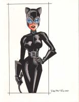 CATWOMAN II BRUCE TIMM STYLE by POPSTATA
