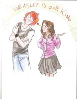 Ron X Hermione by Taiylor