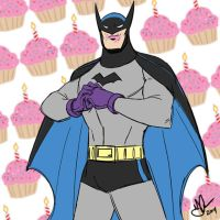 75 years of JUSTICE!...and cupcakes. by jakecastorena