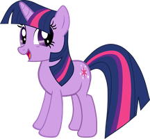 Happy Twilight Sparkle by DelmorS