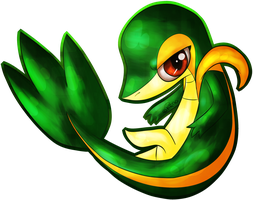 Snivy by Renapop