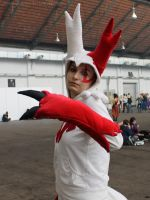 Zangoose - Cosplay by Icarus-Skollsun