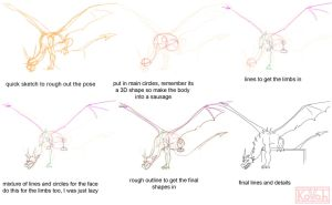 Dragon tutorial by kovah