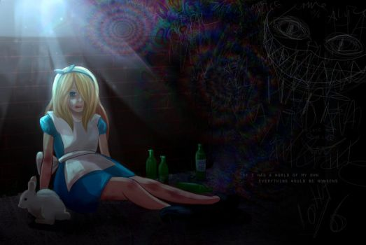 Down the Rabbit Hole.. by Achlucide
