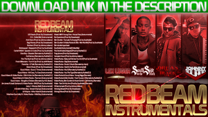 Red Beam Instrumentals Mixtape Cover by StArL0rd84