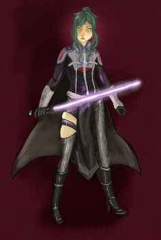 A Sith Lord.... or something. by gohda