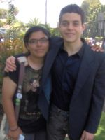 Rami Malek and Me Again by ILoveCP