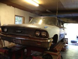 My New 1963 Ford Galaxie 500 by ChewyTheWolf