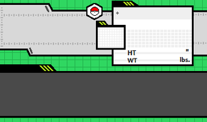 Fakemon Page Template by BeanieGenie