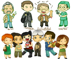 NCIS Sketches by Rahxy