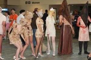 Silent Hill monsters 1 by MadcatDrannon