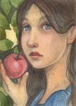Snow White And The Apple by WhimsicalMoon