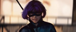Hit Girl Photostudy by pinkhavok