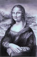 Mona Lisa (La joconde) by Art-SKF