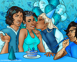 Make a Birthday Wish.... by Pyratesque