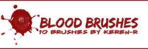 BLOOD brushes . by KeReN-R
