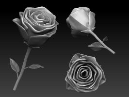 3D_Rose by asgard-knight