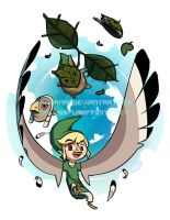 The Masks of Wind Waker by Lanmana