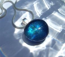 Shimmerstone Pendant No. 5 by Bright-Circle