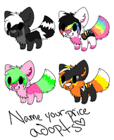 Name your Price Adopts :Hold: by SparkleFluffAdopts