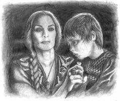 Cersei Lannister - ''I will keep you safe'' by ChristianTsvetanov