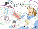 Ikari Happy New Year 2016 by KN-KL