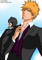 Bleach ichiruki in black -colour-. by Honda-Thoru