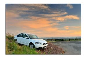Volvo S40 at dawn by Naude