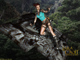 Lara Croft and the Guardian of Light Wallpaper by Roli29
