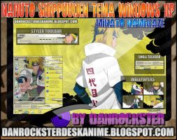 Minato Namikaze Theme Windows XP by Danrockster