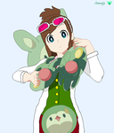 Ema with Solosis and Reuniclus by ajpokeman