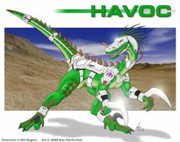 Havoc TR by anthrosaur