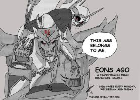 Eons Ago, all about ass -SSxMEG Doujin. by YukiOni