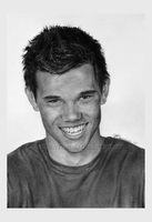 Taylor Lautner smiling by JustLikeThatxD