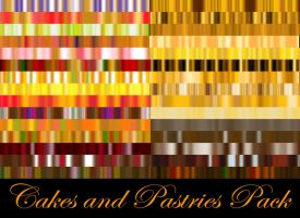 Cakes and Pastries Gradient Pk by Leichenengel