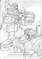 TF Heavy Arms Special Ops Team by biomechlizardchick